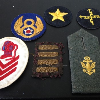 WW2 Era US and German Military Patches ?