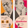 1954 Benedictine & Brandy Advertisements