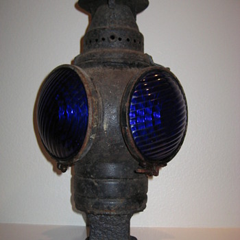 Adlake (Chicago) Railroad Lamp (1907)