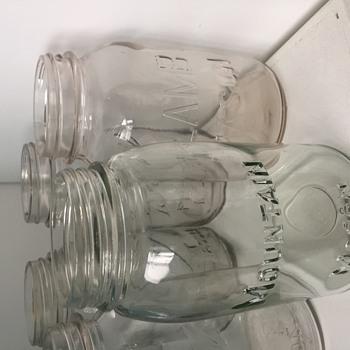 Mountain Mason jar
