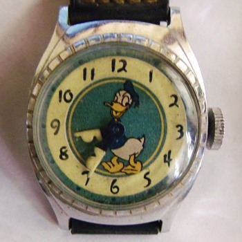 Ingersoll Donald Duck Wristwatches Circ 1948-49