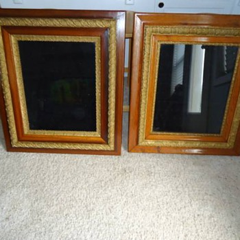 Victorian shadow boxes?