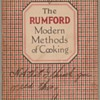 1922 - Rumford Modern Methods of Cooking