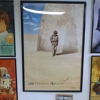 Vintage Star Wars Poster Set + Signed Movie Poster