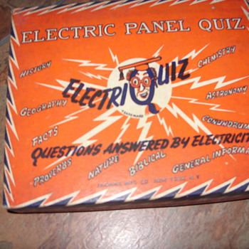 1950s electric quiz game - Games