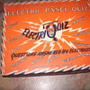 1950s electric quiz game