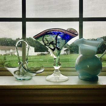 Glass pieces - Art Glass