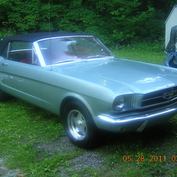1965 Mustang Convertible Classic - Classic Cars