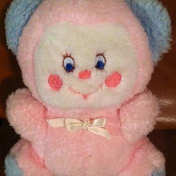 Vintage Pink Blue Teddy
