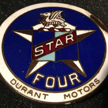 1926 Star Radiator Badge - Classic Cars