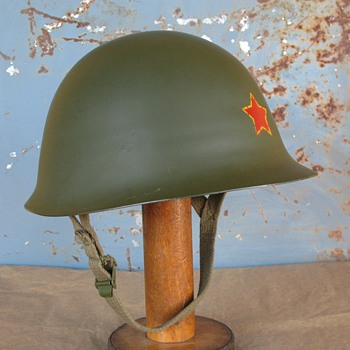 China GK80A steel helmet PLA issue - Military and Wartime