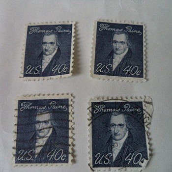 Thomas Paine 40cents USA Stamp
