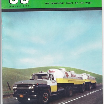 1959 &quot;GO&quot; MAGAZINE ISSUE - Paper
