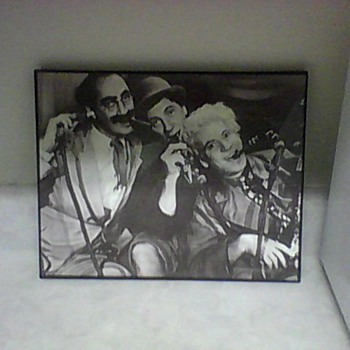 MARX BROTHERS LITHOGRAPH - Photographs