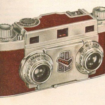 1953 - Revere Stereo 33 Camera Advertisement - Advertising