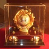 Nolan Ryan Gold Glove & Silver Ball Autographed