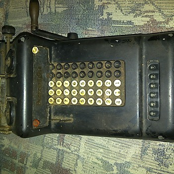 Burroughs Adding Machine - Office