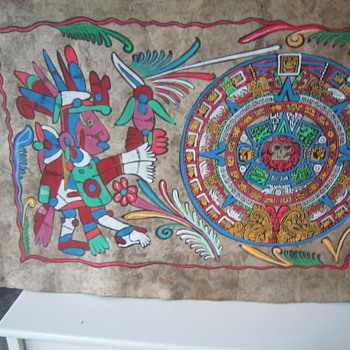 Mexican Amate Bark Paintings - Native American