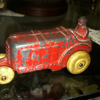Toy tractor pre-wwII I think...?