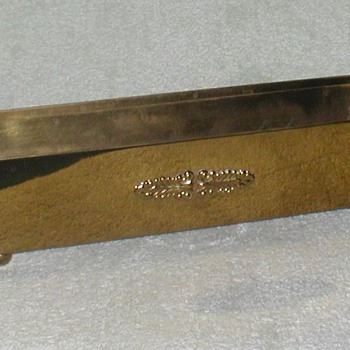 Brass Rectangular Planter