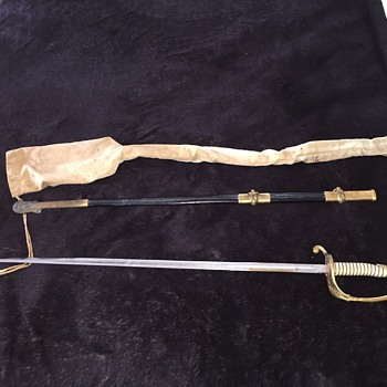 World War II United States Navy Officers Sword - Military and Wartime