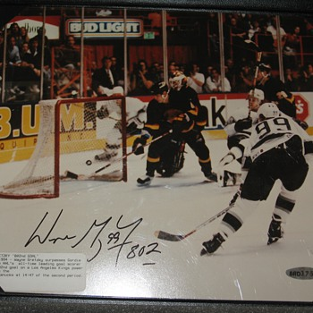 WAYNE GRETZKY UPPER DECK COLLECTORS CHOICE - Hockey
