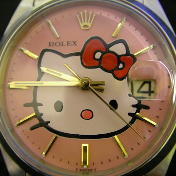 1971 Rolex Ref: 6694 With Hello Kitty Dial - Wristwatches