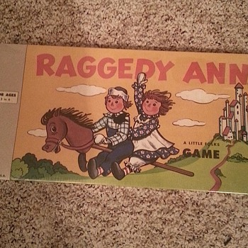 Raggedy Ann A Little Folks Game - Games