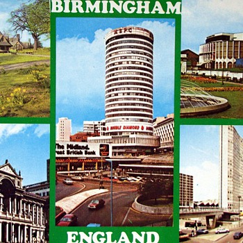 1967-1971-birmingham-old postcards. - Postcards