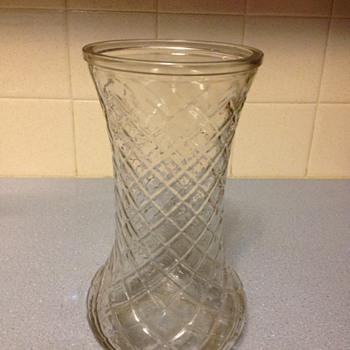 hoosier vase  4082  number 1 - Glassware