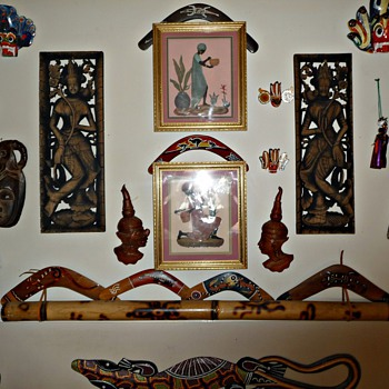 Boomerangs and Bits - Folk Art