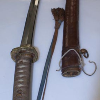 WWII Japanese Officers Samurai Sword