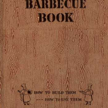 Sunset BBQ Book from 1947 - Books