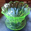 Uranium green Sundae dishes