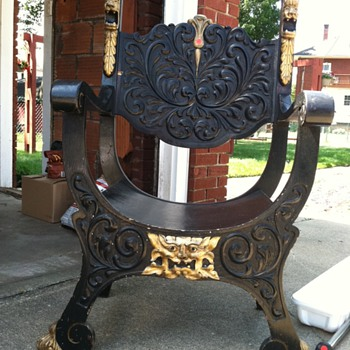 Kings or Bishops chair?? - Furniture