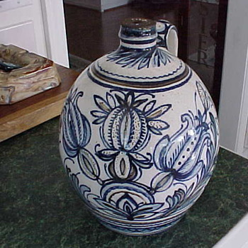 Stoneware Gouda Liquor Jug?