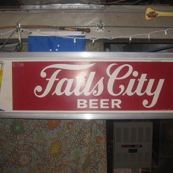 Falls City Beer Light - Signs