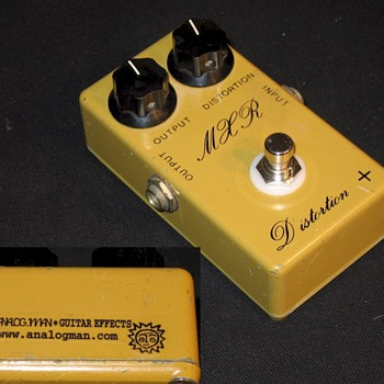 MXR Distortion + - Guitars