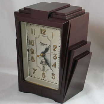 "Kenmore Model 906 ""Dowling"" Shelf Clock - Clocks"