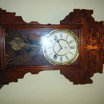 old waterbury clock - Clocks