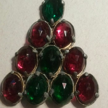A Christmas tree  - Costume Jewelry