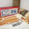 "Vintage WiloLine 1/2"" Scale Model Fire Truck Hose Wagon Kit NIB"