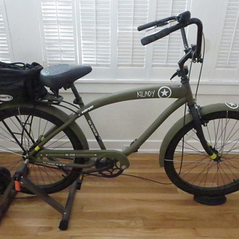 WWII Army Style Bicycle  - Sporting Goods
