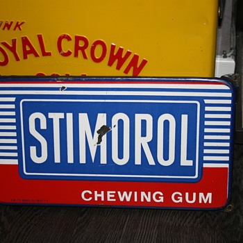 stimorol sign - Signs