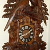 Highly Carved Large Black Forest Cuckoo Clock