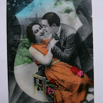 "Vintage Postcard. ""Happy Valentine Day""  - Postcards"