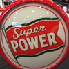 Radio Oil Super Power Globe (Rare)