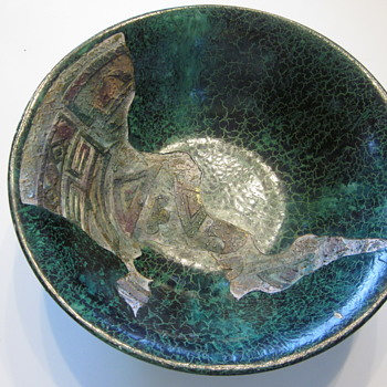 Sgraffito bowl - Pottery