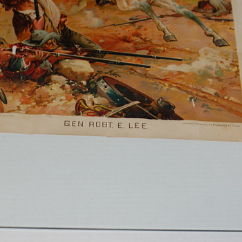 General Lee Shober and CARQUEVILLE Litho-Chicago