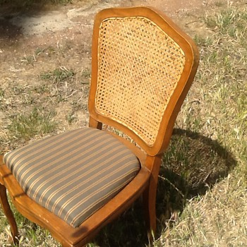 Op shop chair. - Furniture
